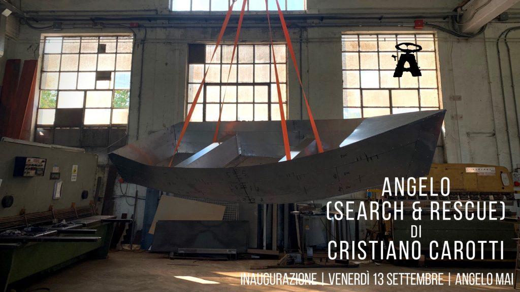 ANGELO (Search & Rescue) di Cristiano Carotti | Installazione