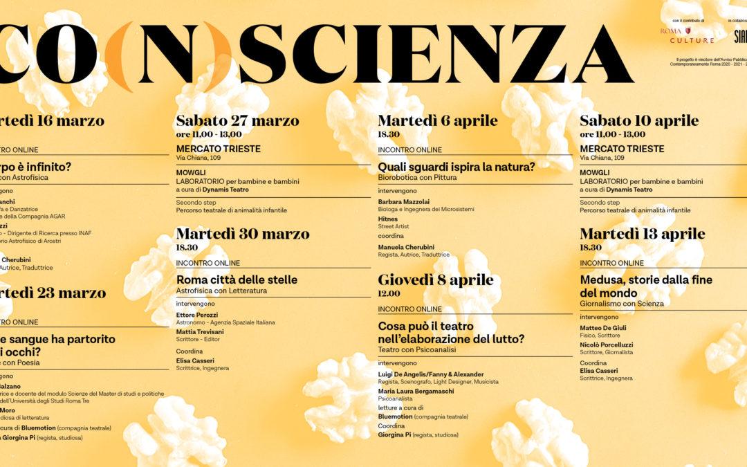 CO(n)SCIENZA 2 ° edizione 16 marzo 13 aprile